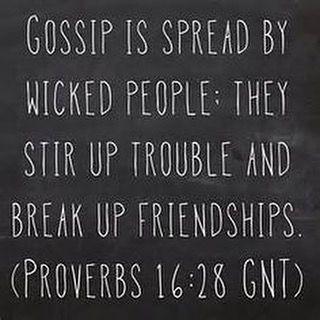 IHaveHeard.Com Gossip Ruins Friendships